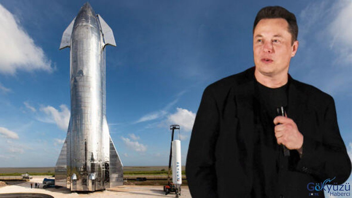 """Elon Musk """"Starship""""i tanıttı"""