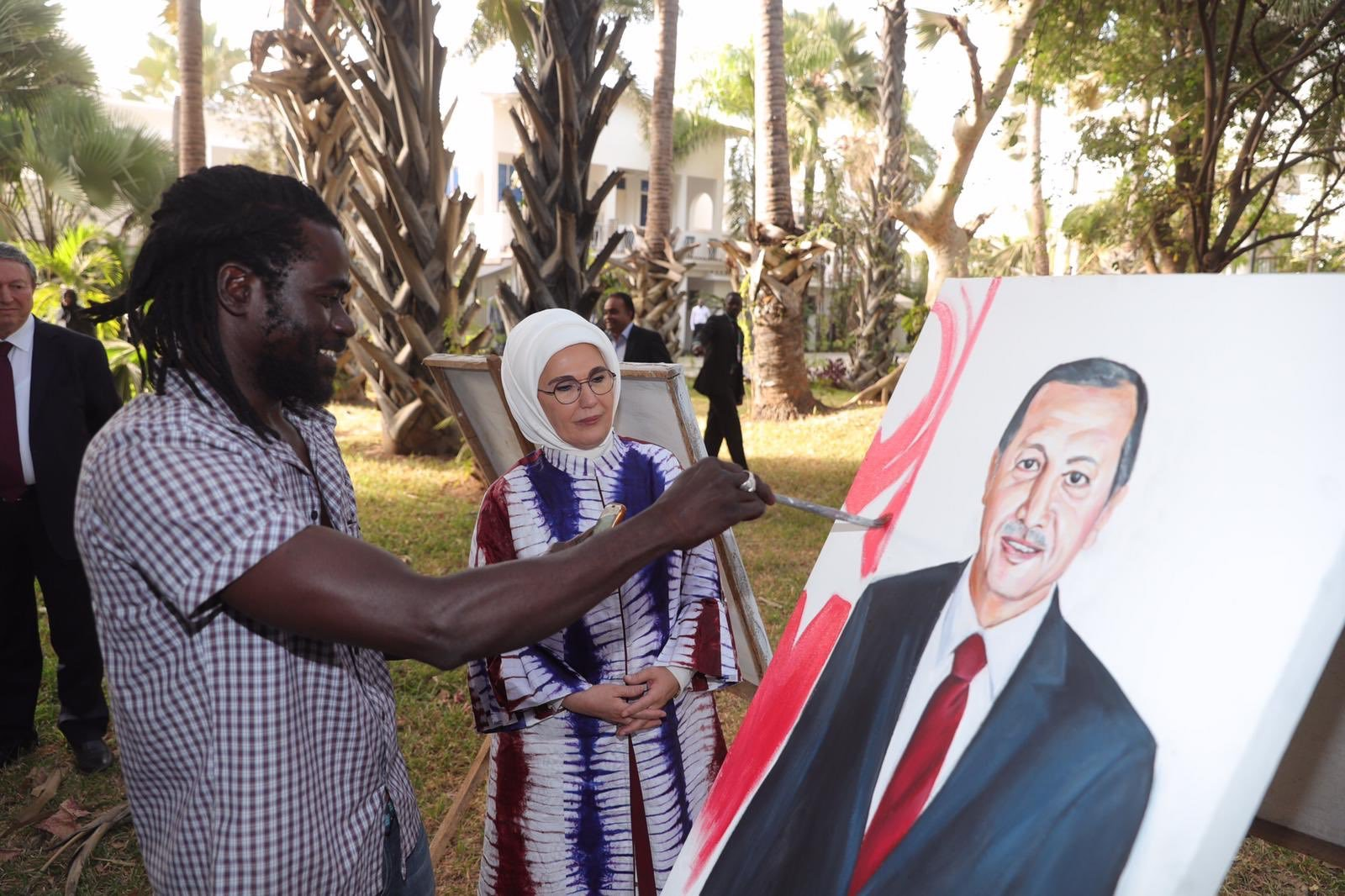 Emine Erdoğan, Gambiya'da