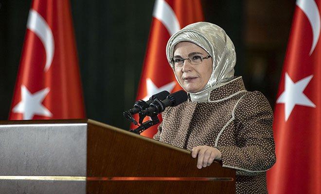 Emine Erdoğan: Kadınlara çağrıda bulundu(video)