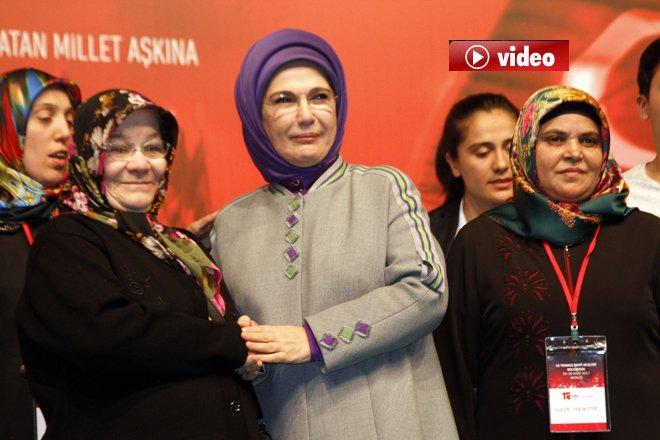 Emine Erdoğan, Şehit Aileleriyle Buluştu