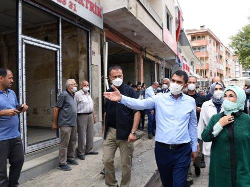 Emine Erdoğan, Kastamonu'nun Bozkurt ilçesini ziyaret etti