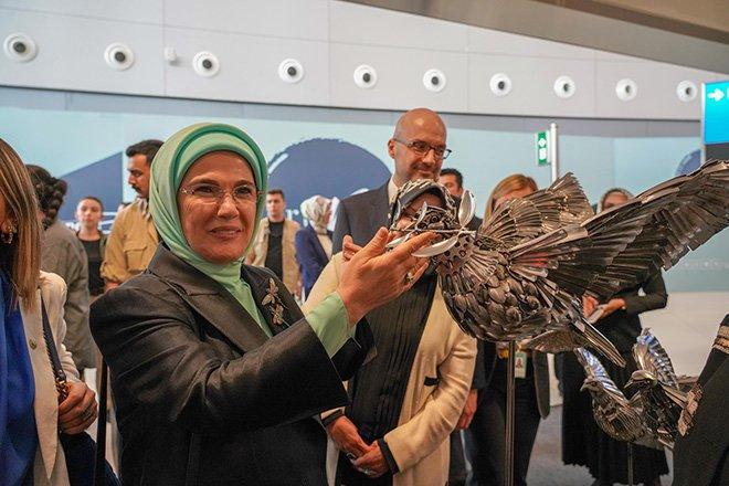 Emine Erdoğan'dan 'Sıfır Atık' çalışması…