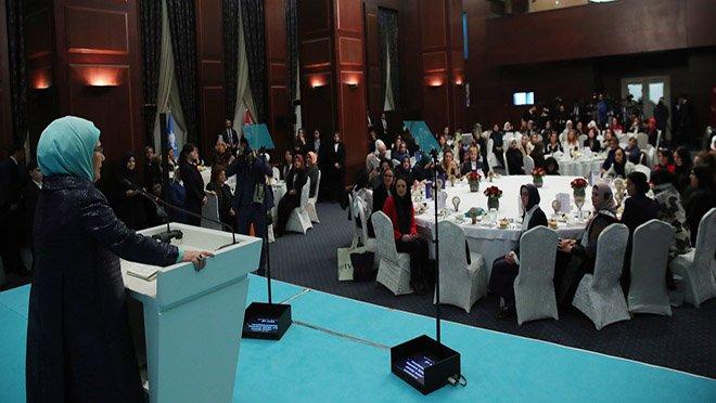 Emine Erdoğan,Kadın Şûrası'nın açılışına katıldı