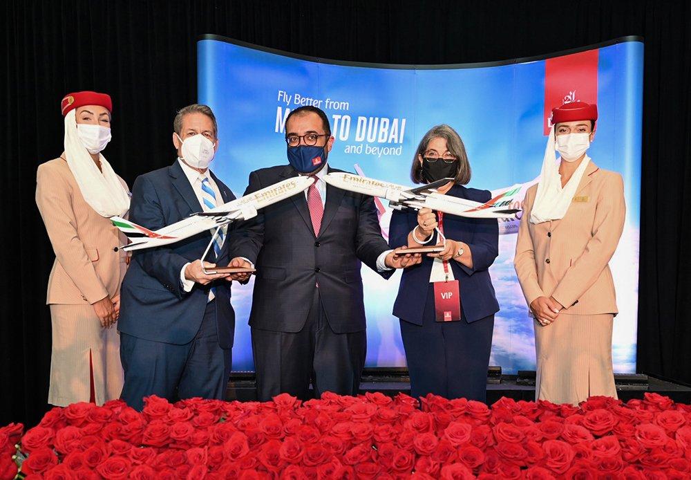Emirates, Miami'ye Yolcu Seferlerini Başlatıyor