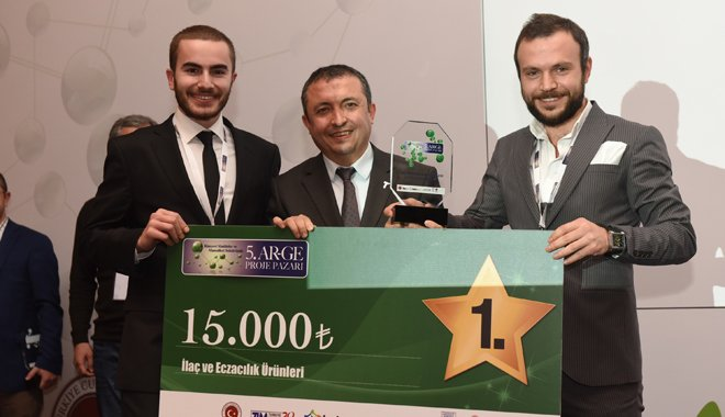 En yaratıcı 13 AR-GE projesine 140 bin TL ödül