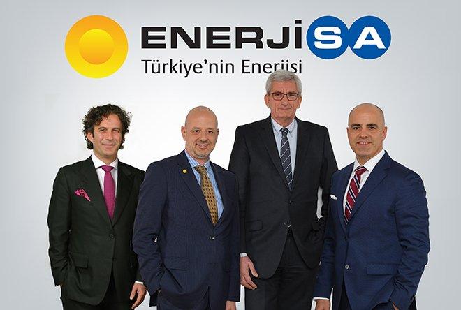 ENERJİSA ENERJİ'DE BAYRAK DEĞİŞİMİ