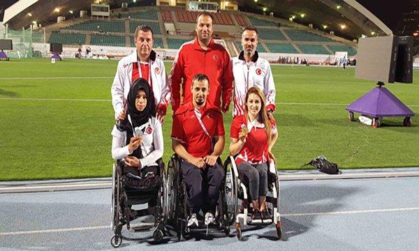 Engelli sporcular Polonya'da Türkiye'yi temsil edecek