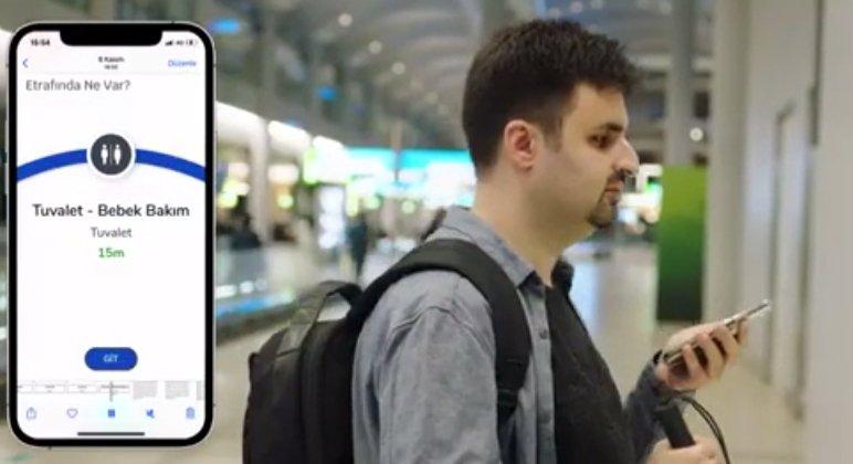 Engelli yolcu ve personele ayrı tuvalet(video)