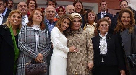 Erdoğan, Anaokulu'nun açılışını yaptı