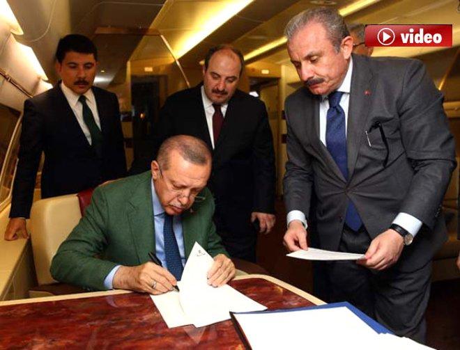 Erdoğan, Cumhur İttifakı Protokolü'nü imzaladı!video