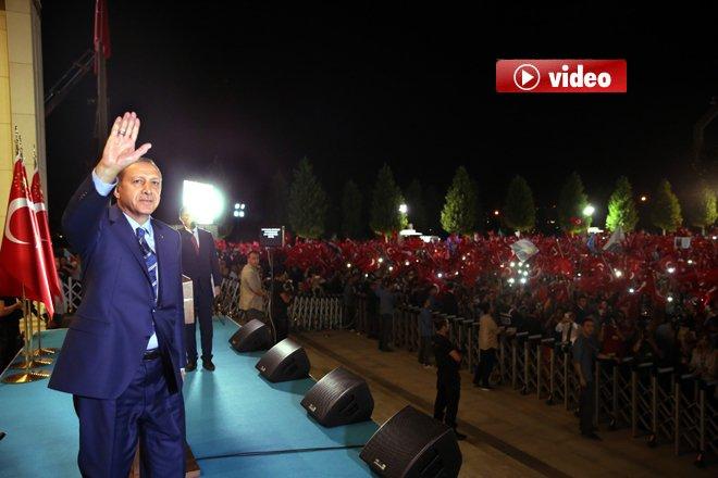 Erdoğan Demokrasi Nöbetine Şimdilik Noktayı Koydu