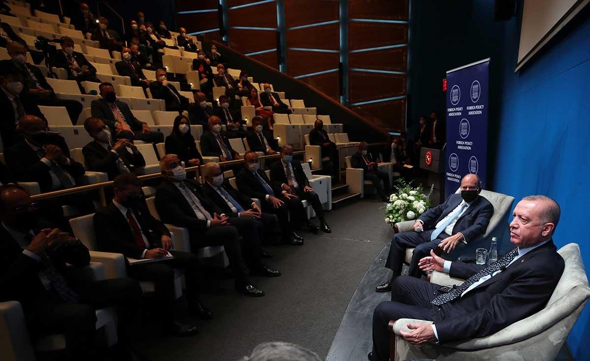 Erdoğan, FPA ve SETA DC programına katıldı #video