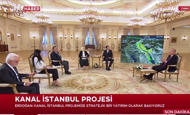 Erdoğan,'Haziran'da ilk köprünün temelini atacağız#video