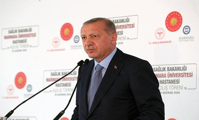 Erdoğan: Kısa Çalışma Ödeneği süresini 1 ay daha uzatıyoruz