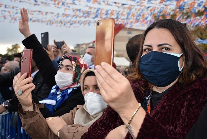 Erdoğan, partisinin Tekirdağ İl Kongresi'ne katıldı(video)