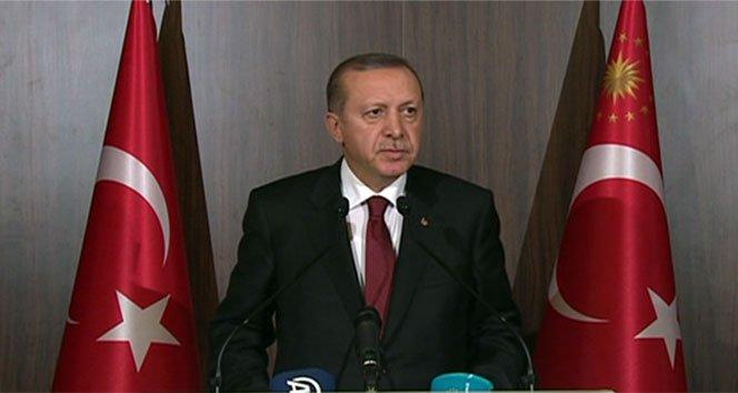 Erdoğan: 'Terörizmle mücadelede sözün bittiği yerdeyiz!'