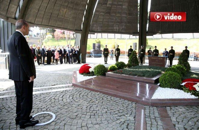 Erdoğan, Turgut Özal'ı Anma Törenine Katıldı
