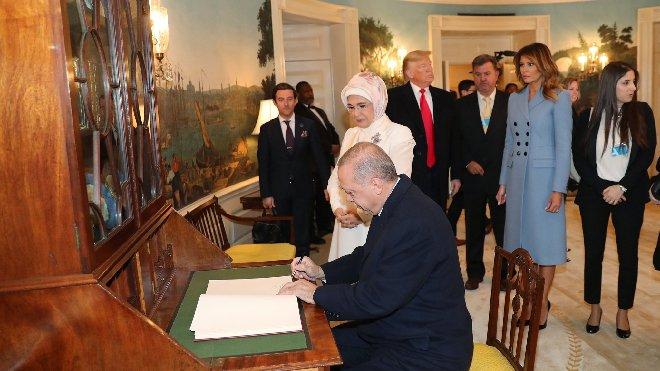 Erdoğan ve Trump'tan önemli açıklamalar