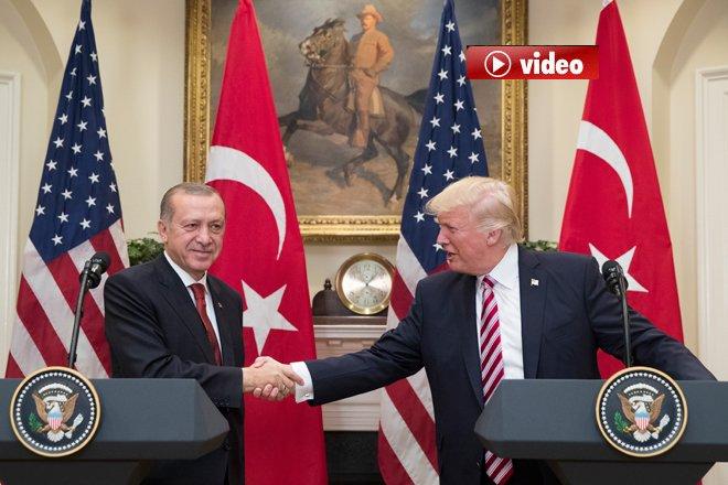 """Erdoğan: """"YPG/PYD'nin muhatap olarak alınması uygun değil"""""""