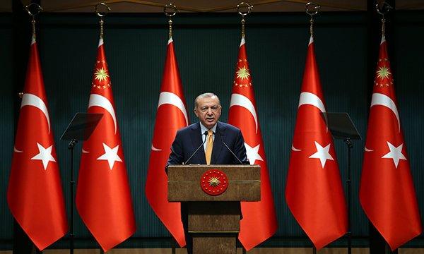 Erdoğan: Yüz yüze eğitimin kapsamını genişletme kararı aldık
