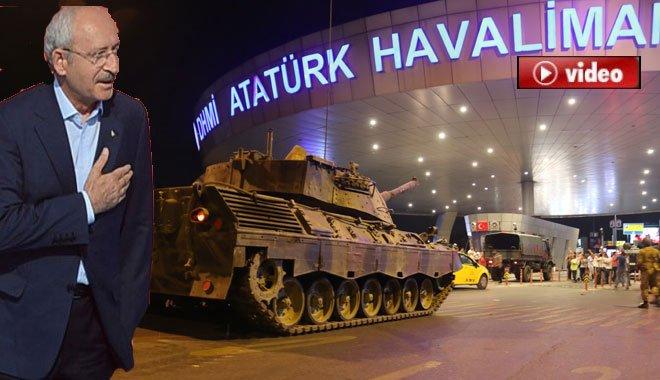 """Erdoğan:""""Atatürk Havalimanında kaçıyordun"""""""