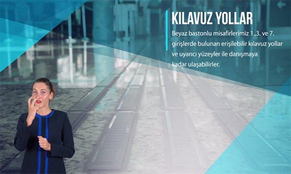 Erişilebilir Havalimanı: İstanbul Havalimanı!(video)