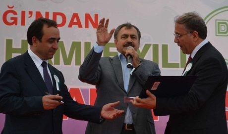 Eroğlu, Tekirdağ'a 62 müjdeyle geldik