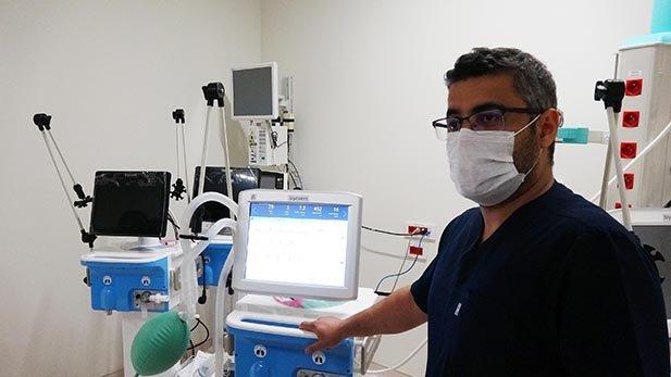 Erzurum Şehir Hastanesi yoğun bakım ünitesine 'milli nefes'