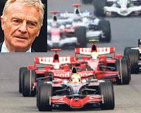 Ferrari 1 ve 2. sırada