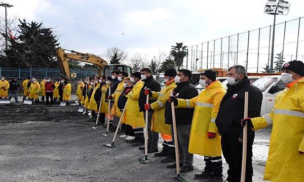 Fatih Belediyesi Kar Yağışına Hazır