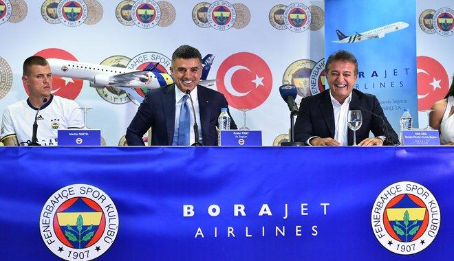 Fenerbahçe Borajet Havayollarını Seçti