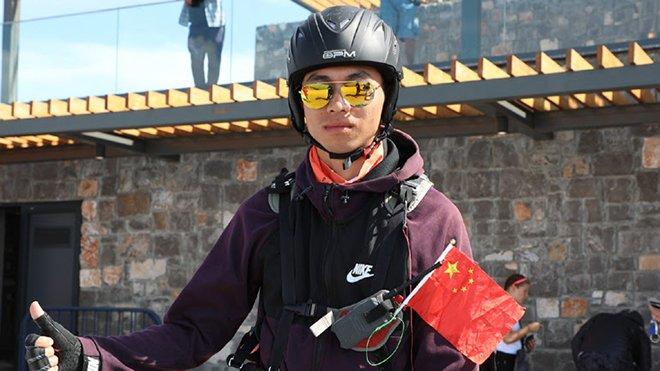 Fethiye'de yamaç paraşütü Çinlilerin yeni gözdesi