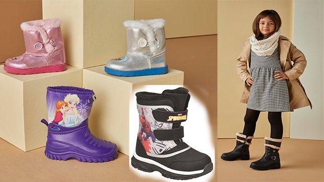 FLO'dan miniklere rengârenk kar botları!
