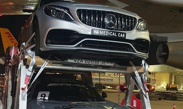 Formula 1 araçları Türkiye'ye geldi