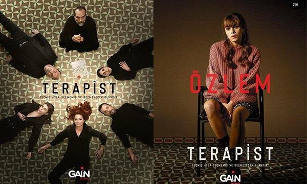 Gain'in, 'Terapist' izleyicisiyle buluştu(video)