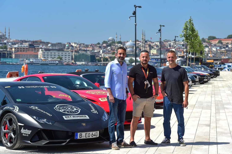Galataport İstanbul'da süper otomobiller sergisi