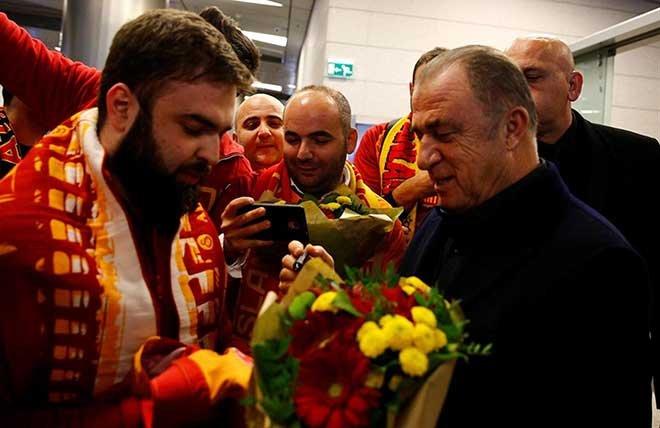 Galatasaray Rusya'ya böyle geldi
