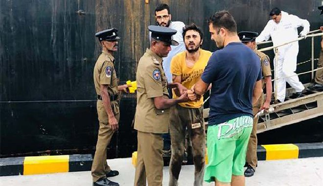 Gemi kaptanını öldüren şüpheli Sri Lanka'dan getiriliyor
