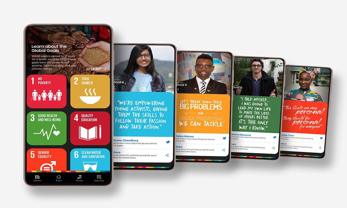 Genç Liderlere Galaxy teknolojisi desteği