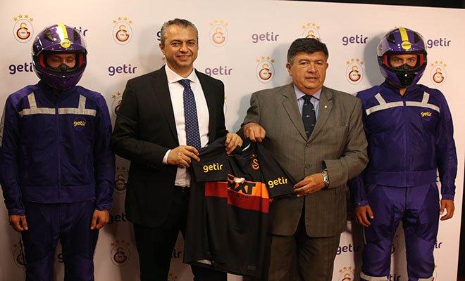 Getir, Galatasaray'ın yeni forma sponsoru oldu#video