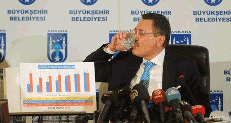 Gökçek'ten Ankara'yı karıştıran su iddiasına cevap