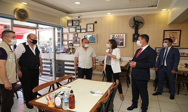 Gölbaşı Belediyesi ekiplerinin koronavirüs mesaisi hızlandı