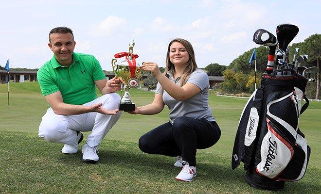 Golfte'Hocaların hocası' Fahrettin Kök(video)