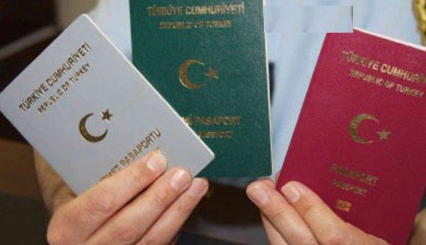 Gri ve yeşil pasaportlu yolculara özel banko