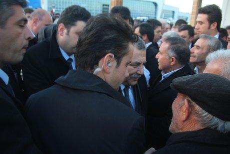 Güler,Mardin'de açıklamalarda bulundu.