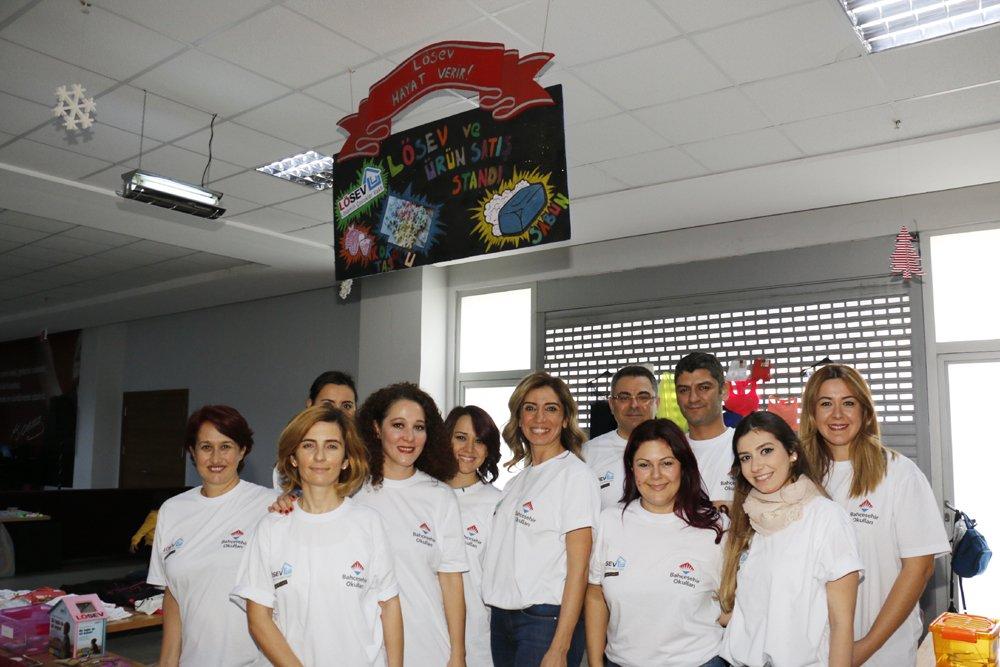 Halkalı Bahçeşehir Koleji'nde yeni yıl coşkusu