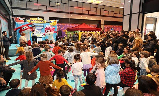Harika Kanatlar Bilkent Center'da Yükseldi