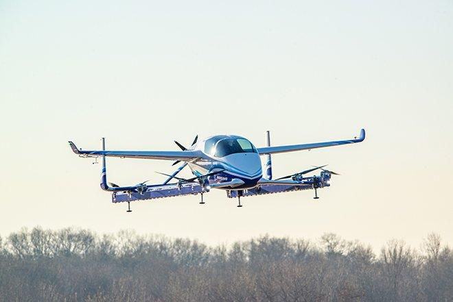 Hava Aracı İlk Uçuşunu Gerçekleştirdi!
