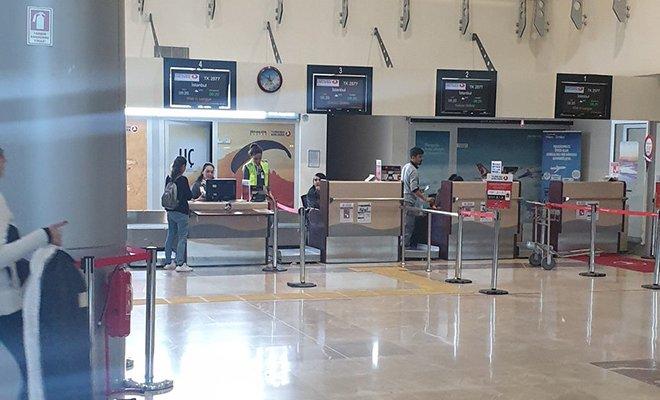 Havalimanı'nda virüs paniği!