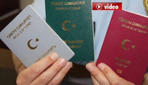 Havalimanı'nda'yeşil ve gri pasaport' açıklaması